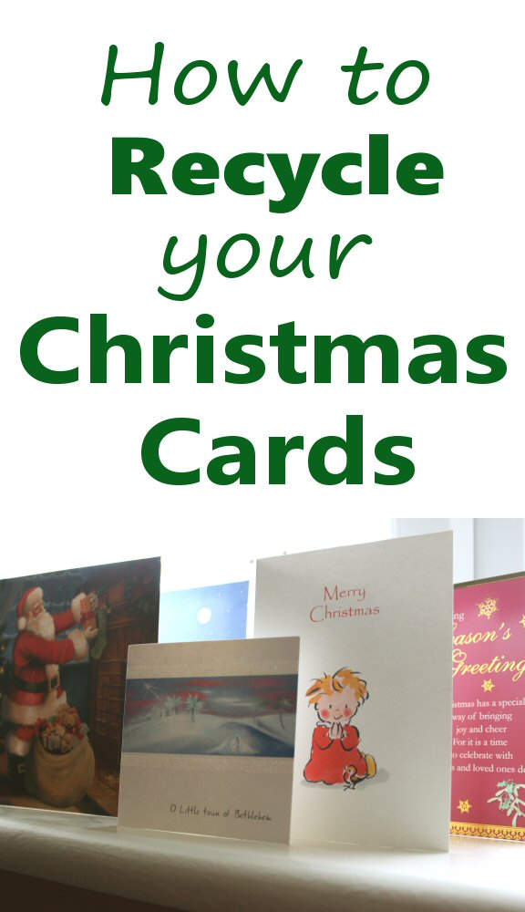 How to Recycle Your Christmas cards
