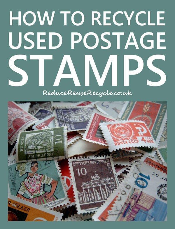 How To Recycle Used Postage Stamps