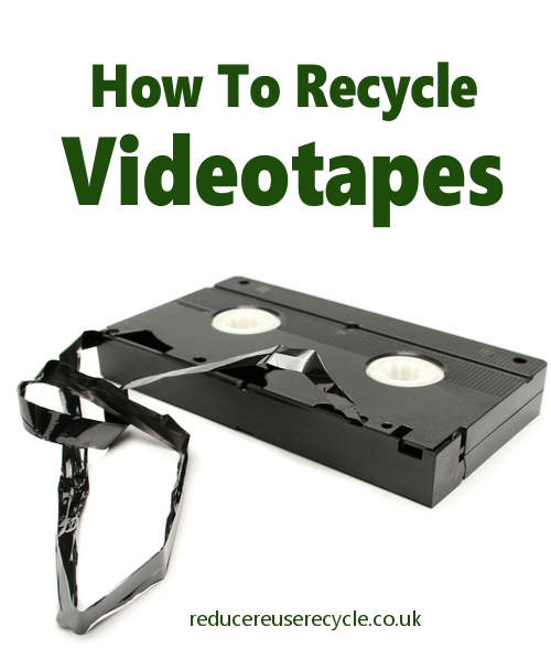 How To Recycle Your VHS Videocassettes