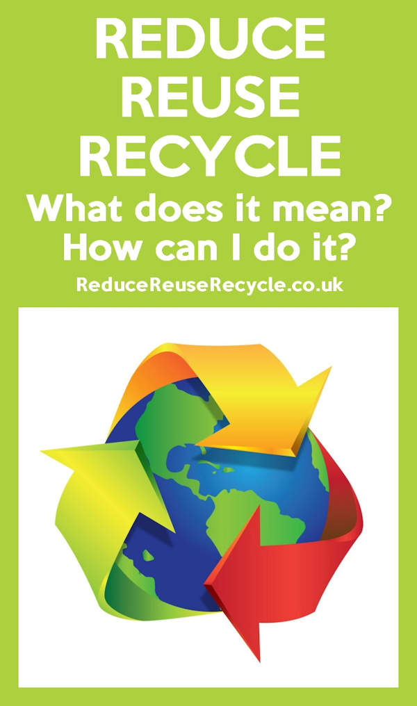 What Does Reduce Reuse Recycle Mean